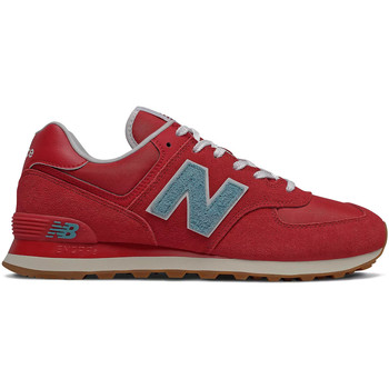 Cipők Férfi Rövid szárú edzőcipők New Balance NBML574STR Piros