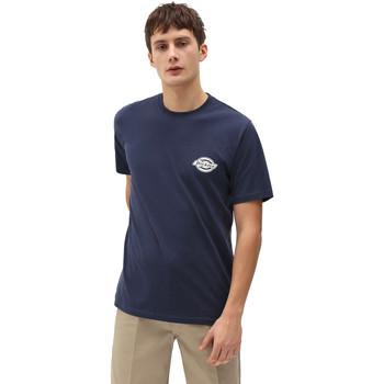 Ruhák Férfi Rövid ujjú pólók Dickies DK0A4XENNV01 Kék
