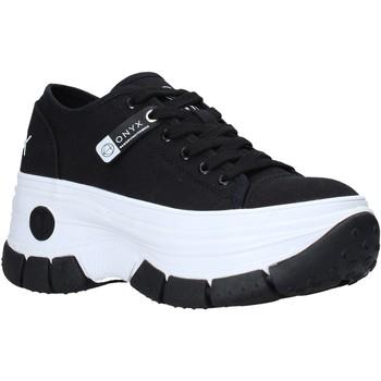 Cipők Női Rövid szárú edzőcipők Onyx S21-S00OX010 Fekete