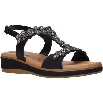 Cipők Női Szandálok / Saruk Susimoda 2048 Fekete