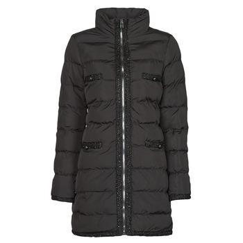 Ruhák Női Steppelt kabátok Moony Mood PABREST Fekete