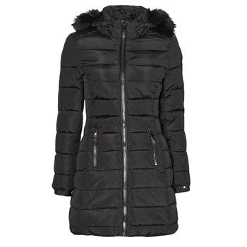 Ruhák Női Steppelt kabátok Moony Mood PABRIES Fekete