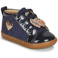 Cipők Lány Magas szárú edzőcipők Shoo Pom BOUBA HEART Kék
