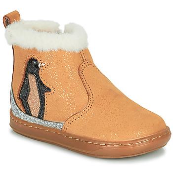 Cipők Lány Csizmák Shoo Pom BOUBA ICE Barna