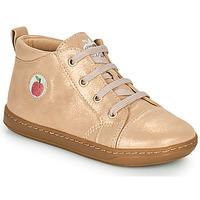 Cipők Lány Magas szárú edzőcipők Shoo Pom BOUBA ZIP LACE Rózsaszín