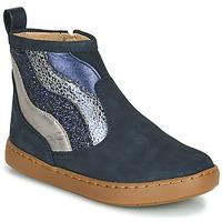 Cipők Lány Csizmák Shoo Pom PLAY WAVES Kék