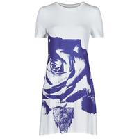Ruhák Női Rövid ruhák Desigual WASHINTONG Fehér / Kék