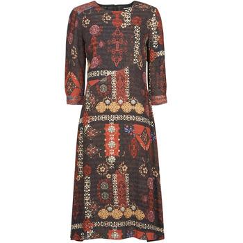Ruhák Női Hosszú ruhák Desigual ALBURQUERQUE Sokszínű