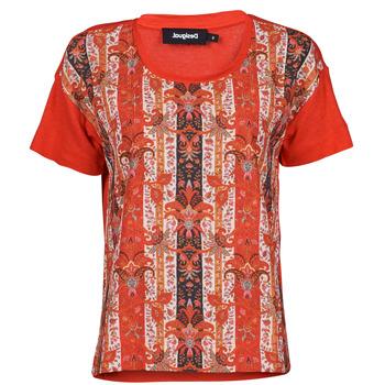 Ruhák Női Rövid ujjú pólók Desigual LOMBOK Sokszínű