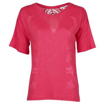 Ruhák Női Rövid ujjú pólók Desigual CLEMENTINE Piros