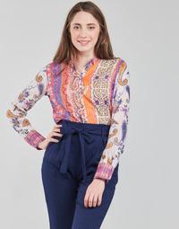 Ruhák Női Hosszú ujjú pólók Desigual BOHO Sokszínű