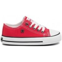 Cipők Gyerek Rövid szárú edzőcipők Big Star FF374201 Piros