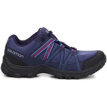 Cipők Női Rövid szárú edzőcipők Salomon Deepstone W Lila