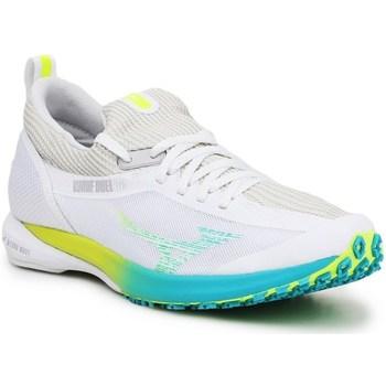 Cipők Női Rövid szárú edzőcipők Mizuno Wave Duel 2 Fehér