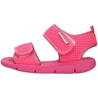Cipők Lány Szandálok / Saruk Superga S63S825 FUCHSIA