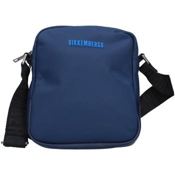 Táskák Férfi Válltáskák Bikkembergs E2BPME1Q0022 NAVY BLUE