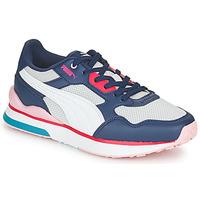 Cipők Női Rövid szárú edzőcipők Puma FUTURE Fehér / Szürke / Kék / Piros