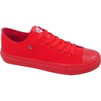 Cipők Női Rövid szárú edzőcipők Lee Cooper LCWL2031046 Piros