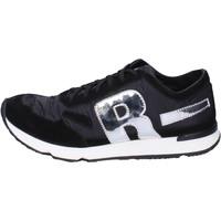 Cipők Férfi Rövid szárú edzőcipők Rucoline BH395 Fekete