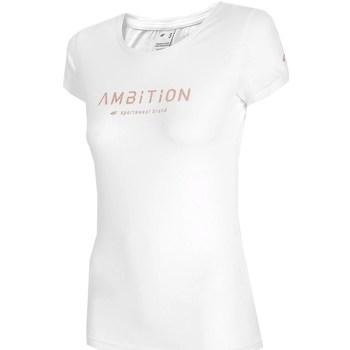 Ruhák Női Rövid ujjú pólók 4F H4L21 TSD033 Fehér
