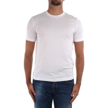 Ruhák Férfi Rövid ujjú pólók Cruciani CUJOSB G30 White