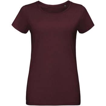 Ruhák Női Rövid ujjú pólók Sols Martin camiseta de mujer Burdeo