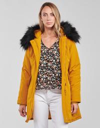 Ruhák Női Parka kabátok Betty London PAPAKA Mustár sárga