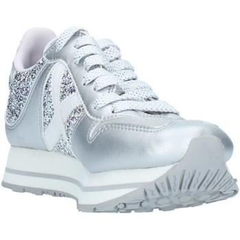 Cipők Női Rövid szárú edzőcipők Munich 8810147 Silver