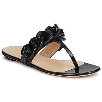 Shoes Női Lábujjközös papucsok Versus by Versace FSD364C Fekete