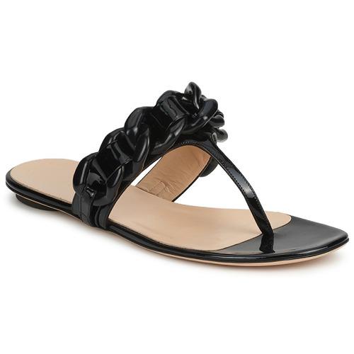 Cipők Női Lábujjközös papucsok Versus by Versace FSD364C Fekete