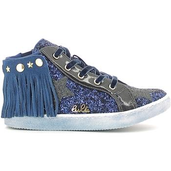 Cipők Lány Magas szárú edzőcipők Lulu LS150014S Kék