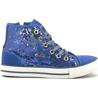 Cipők Lány Magas szárú edzőcipők Lulu LV010070T Kék