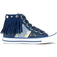 Cipők Lány Magas szárú edzőcipők Lulu LV010060T Kék
