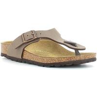 Cipők Gyerek Lábujjközös papucsok Birkenstock 846133 Bézs