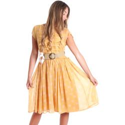 Ruhák Női Rövid ruhák Fracomina FR20SMORIANA Sárga