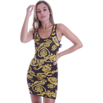 Ruhák Női Rövid ruhák Versace B4HVB81050414KA9 Fekete
