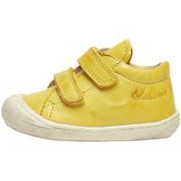 Cipők Gyerek Rövid szárú edzőcipők Naturino 2012904 16 Sárga