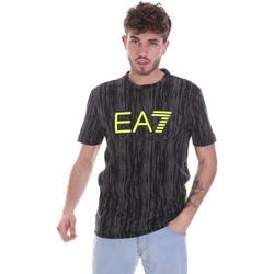 Ruhák Férfi Rövid ujjú pólók Ea7 Emporio Armani 6HPT04 PJB1Z Fekete