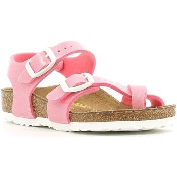 Cipők Lány Szandálok / Saruk Birkenstock 371603 Rózsaszín