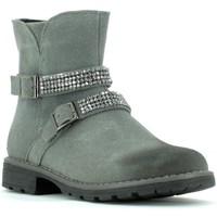 Cipők Lány Bokacsizmák Grunland PO0436 Szürke