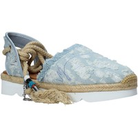 Cipők Női Gyékény talpú cipők Manila Grace S677DU Kék