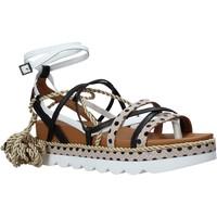 Cipők Női Szandálok / Saruk Manila Grace S620DU Fekete
