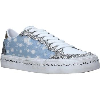 Cipők Női Rövid szárú edzőcipők Manila Grace S642DU Kék