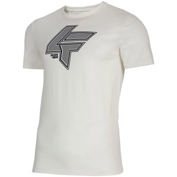 Ruhák Férfi Rövid ujjú pólók 4F TSM010 Fehér