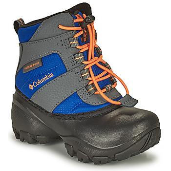 Cipők Gyerek Hótaposók Columbia CHILDRENS ROPE TOW Kék / Narancssárga