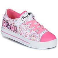 Cipők Gyerek Gurulós cipők Heelys Snazzy Fehér / Rózsaszín / Levendula