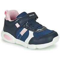Cipők Fiú Rövid szárú edzőcipők Geox B PILLOW Kék