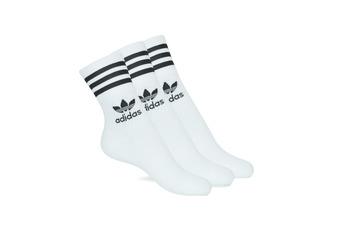 Kiegészítők High socks adidas Originals MID CUT CRW X 3 Fehér
