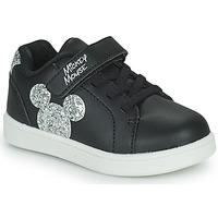 Cipők Gyerek Rövid szárú edzőcipők Disney MICKEY Fekete
