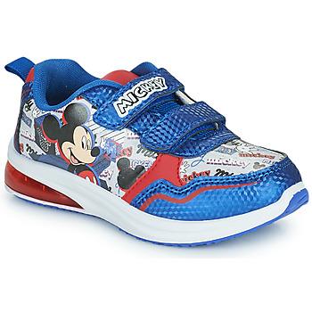 Cipők Fiú Rövid szárú edzőcipők Disney MICKEY Kék